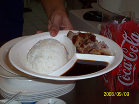 lechon of Lechon Station, Robinson's Place Fuente Osmena