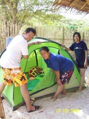 Jerald, Joyce, and I in Horse Island