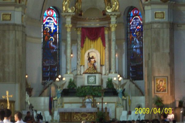 Black Nazarene, Quiapo Church