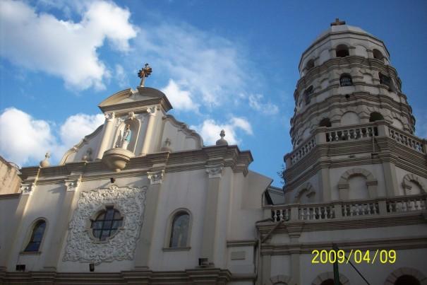 Facade, Sta. Cruz Church