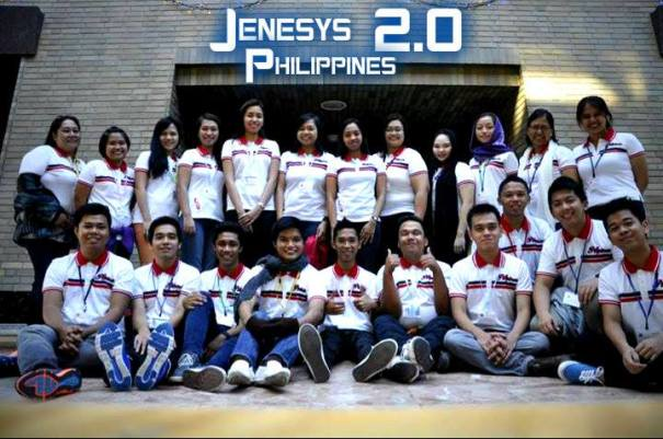 Team Pilipinas at the JENESYS 2.0 Cultural Exchange Program, December 2013