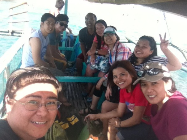 Boat ride from Pundakit to Nagsasa (Photo credit: Eleriza Soriano)