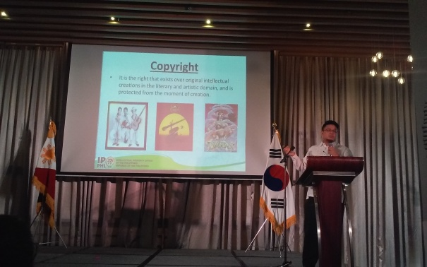 Atty. Mark C. Herin and his Introduction to Legal System for Copyright Fair Use in the PH
